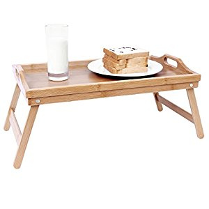 songmics avis trendy songmics plateau petit djeuner table de lit en bambou pour repas x cm lld. Black Bedroom Furniture Sets. Home Design Ideas